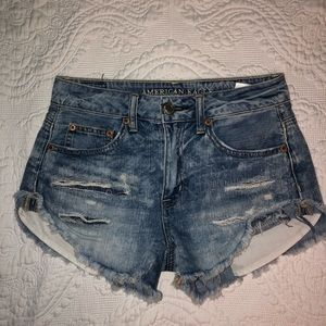 AEO Jean Short with Rips